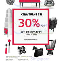 Read more about Xtra 30% OFF 25th Anniversary Promo 10 - 18 May 2014