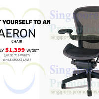 Read more about Herman Miller Aeron Chair 18% OFF Promo @ Xtra 30 Apr 2014