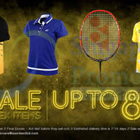 Read more about Yonex SALE Up To 80% OFF 23 - 31 May 2014