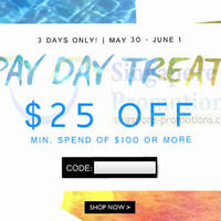 Read more about Zalora $25 OFF Storewide 3 Days Pay Day Promo 30 May - 1 Jun 2014