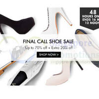 Read more about Zalora 20% OFF Women's Shoes Coupon Code (NO Min Spend) 14 - 16 May 2014