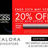 Read more about Zalora 20% OFF Storewide (inc Sale Items) GSS 48Hr Promo 24 - 25 May 2014