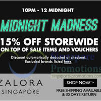 Read more about Zalora 15% OFF Storewide 2hr Flash Sale (10pm - 12am) 23 May 2014
