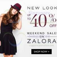 Read more about New Look Up To 40% Off Promo 17 - 18 May 2014