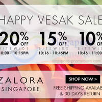 Read more about Zalora 20% OFF Storewide 1Hr Flash Sale (10pm - 11pm) 13 May 2014