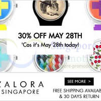 Read more about Zalora 30% OFF Watches One Day Promo 28 May 2014