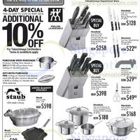 Read more about Takashimaya Kitchen Appliances & Kitchenware Offers 22 May - 12 Jun 2014