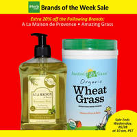 Read more about iHerb 20% OFF A La Maison de Provence & Amazing Grass 23 - 28 May 2014