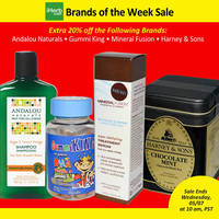 Read more about iHerb 20% OFF Andalou Naturals, Gummi King & More 3 - 7 May 2014