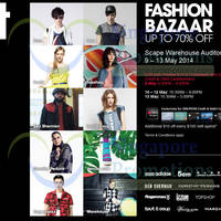 Read more about i.t Labels Adidas, Topshop & More Fashion Bazaar @ *Scape 9 - 13 May 2014