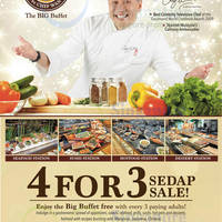 Read more about 1 Market by Chef Wan One Dines FREE With 3 Paying Adults (Weekdays) 3 Jun - 27 Jul 2014