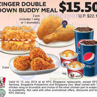 Read more about KFC Dine-In Discount Coupons (& FREE Coffee Coupon) 24 Jun - 15 Jul 2014