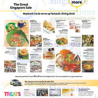 Read more about Maybank 1 For 1 Dining Treats & More 7 Jun - 31 Jul 2014