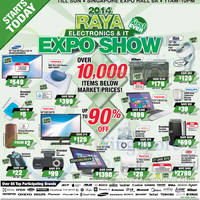 Read more about Raya Electronics & IT Expo Show @ Singapore Expo 20 - 22 Jun 2014