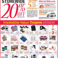 Read more about OG 20% OFF Storewide GSS Promo 26 - 29 Jun 2014