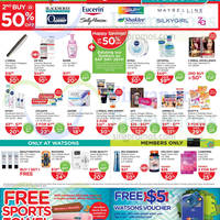 Read more about Watsons Personal Care, Health, Cosmetics & Beauty Offers 26 Jun - 2 Jul 2014