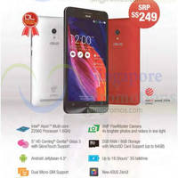 Read more about ASUS $249 ZenFone 5 Now Available 14 Jun 2014