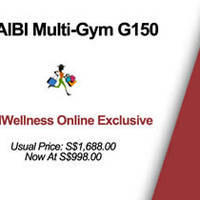 Read more about Aibi Multi-Gym G150 40% Off DealWellness Exclusive 12 Jul 2014