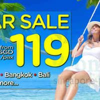 Read more about Air Asia Go From $119 3D2N (Stay + Taxes) Mid Year SALE 17 - 29 Jun 2014