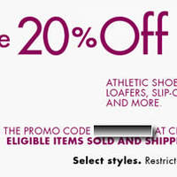 Read more about Amazon.com 20% OFF Footwear Coupon Code (NO Min Spend) 7 - 13 Jun 2014