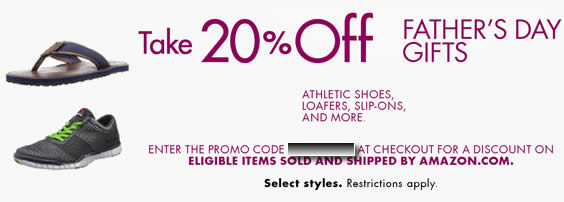 amazon running shoe coupon code