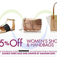Read more about Amazon.com 25% OFF Women's Shoes & Handbags Coupon Code (NO Min Spend) 12 - 20 Jun 2014