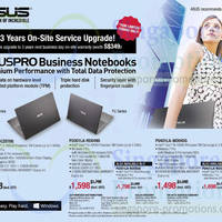 Read more about ASUS Pro Business Notebooks Offers 4 Jun 2014