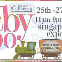 Read more about Baby Expo Fair @ Singapore Expo 25 - 27 Jul 2014