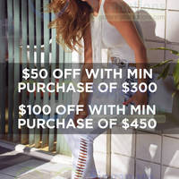Read more about Bebe $100 OFF Promo 13 - 25 Jun 2014