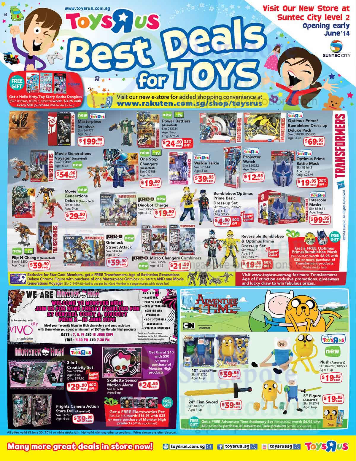 Best Deals for Toys, Transformers, Grimlock, Power Battlers, Jack Finn, Monster High