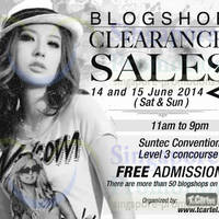 Read more about Blogshop Clearance Sales @ Suntec Convention Centre 14 - 15 Jun 2014