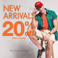 Read more about Bossini 20% OFF New Arrivals Promo 16 Jun 2014