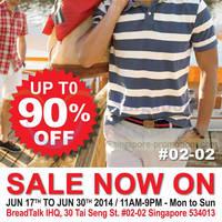 Read more about Branded Fashion Warehouse Sale @ BreadTalk IHQ 17 - 30 Jun 2014