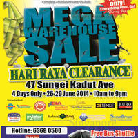 Read more about Novena Mega Warehouse Sale 26 - 29 Jun 2014