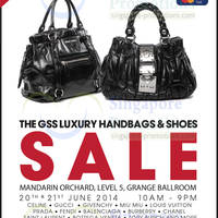 Read more about Brandsfever Handbags & Footwear Sale @ Mandarin Orchard 20 - 21 Jun 2014
