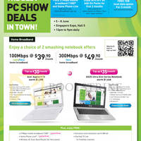 Read more about Starhub PC SHOW 2014 Smartphones, Tablets, Cable TV & Mobile/Home Broadband Offers 5 - 8 Jun 2014