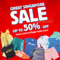 Read more about Camouflage Kids Great Singapore SALE 18 Jun 2014
