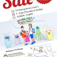Read more about Camouflage & Mitju End of Season Sale @ 112 Katong 3 - 6 Jul 2014