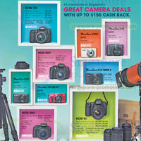 Read more about Canon Digital Cameras Cashback Promotion 5 - 29 Jun 2014