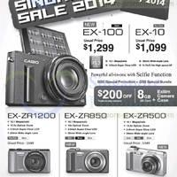 Read more about Casio Digital Cameras Great Singapore Sale Offers 9 Jun - 27 Jul 2014