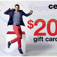 Read more about Celio* Spend $80 & Get FREE $20 Gift Card 13 - 15 Jun 2014