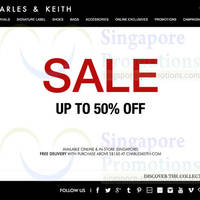 Read more about Charles & Keith End of Season SALE (Further Reductions!) 19 Jun 2014