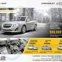 Read more about Chevrolet Orlando, Cruze, Cruze Wagon & Captiva Price & Features 31 May 2014
