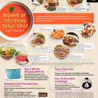 Read more about City Square Mall Food Festival Delicious Deals Daily 4 Jul - 3 Aug 2014