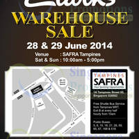 Read more about Clarks Warehouse SALE @ Safra Tampines 28 - 29 Jun 2014