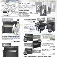 Read more about Cristofori Great Piano Warehouse Sale 21 - 29 Jun 2014