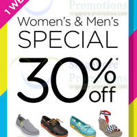 Read more about Crocs 30% OFF Women's & Men's Promo 13 - 19 Jun 2014