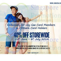 Read more about Denizen 40% OFF Storewide For Citibank Cardmembers 25 Jun - 6 Jul 2014