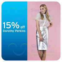 Read more about Dorothy Perkins 15% OFF For Citibank Cardmembers 1 - 8 Jun 2014