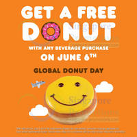 Read more about Dunkin' Donuts Global Donut Day 6 Jun 2014
